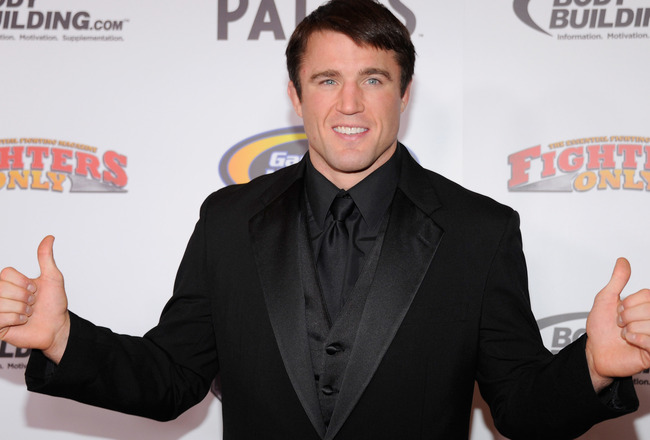 Chael Sonnen's Ridiculous Book Gets Release Date