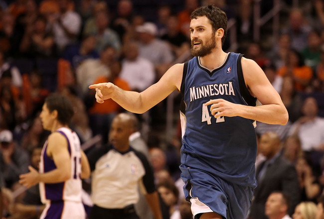 KEVIN LOVE: Yeah, He's Like Larry Bird—He's Not Just a White Star