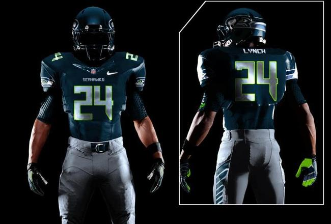 SEATTLE SEAHAWKS NEW UNIFORMS to Be Unveiled...or Perhaps Re-Revealed