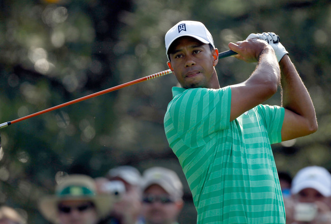 2012 Masters Tournament: Tiger Woods' Run a Must-See