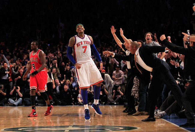 Schizophren-Knicks Overcome Magic Circus and Bull Defense: A Fan's View