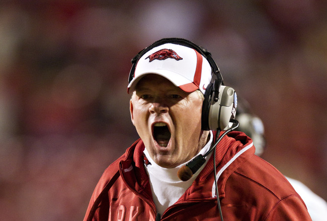 2012 NFL Draft: How Fired Arkansas HC Bobby Petrino Effects the Cleveland Browns