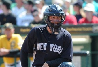 IMG Baseball Academy alum, JR Murphy, is progressing very nicely in the New York Yankees system