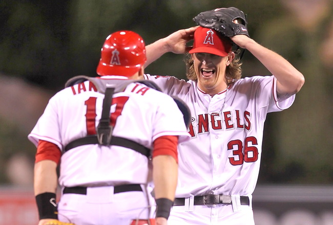 Angels' Ace Jered Weaver Tosses No-No vs. Twins