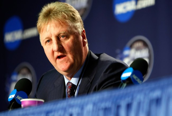 Larry Bird Calls Out 'Soft' Pacers