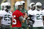 Tebow Struggles at QB in Jets' OTAs