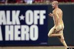 Streaker Interrupts Cardinals-Phillies Game