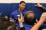 Anthony Davis: I Want to Shut Down Kobe
