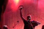 Dirk Nowitzki Plays Tambourine with the Avett Brothers