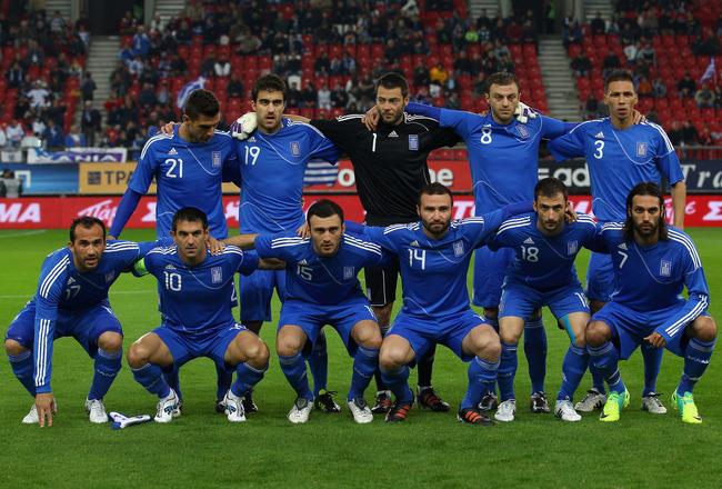Greece Squad Euro 2012