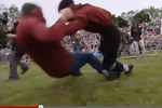 Shin-Kicking Is a Sport in England
