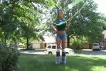 The Hot Eagles Hula-Hooping Video You Didn't Know You Wanted to See