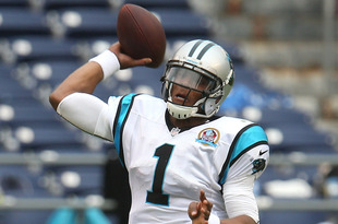 SAN DIEGO, CA - DECEMBER 16:  Quarterback Cam Newton #1 of the Carolina Panthers throws a pass against the San Diego Chargers at Qualcomm Stadium on December 16, 2012 in San Diego, California. The Panthers won 31-7.  (Photo by Stephen Dunn/Getty Images)