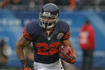 CHICAGO, IL - DECEMBER 16:  Matt Forte #22 of the Chicago Bears runs against the Green Bay Packers at Soldier Field on December 16, 2012 in Chicago, Illinois. The Packers defeated the Bears 21-13.  (Photo by Jonathan Daniel/Getty Images)