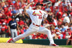 ST. LOUIS, MO - AUGUST 3:  Reliever Trevor Rosenthal