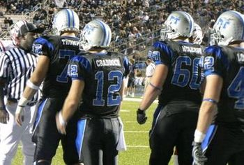 middle tennessee state called for a  quot blackout quot  last year for a