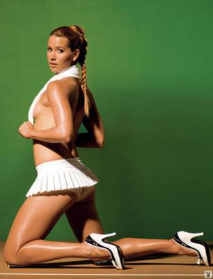 ... όλα μέχρι που έθεσε nude σεPlayboy πίσω στο 2008.