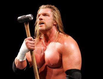 Triple H vs Sheamus - Unexpected turn Triple_h_sledgehammer_display_image