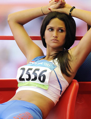 It's true that many hot women athletes don't look nearly as good while they ...