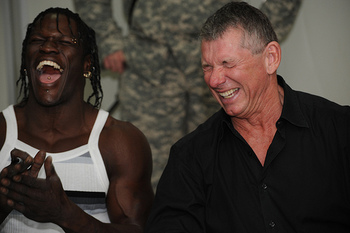 WWE suspends R-Truth for 30 days, I bet @ValVenisEnt is going to have a conniption fit