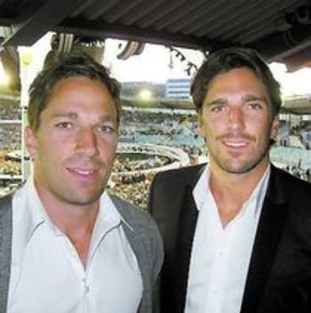 Henrik Lundqvist Twin Brother