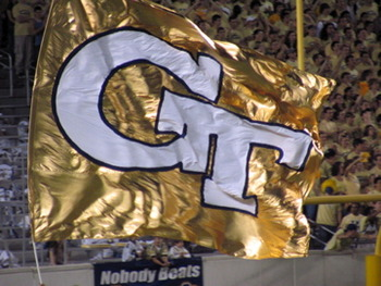 Georgia_tech_football_touchdown_flag_display_image