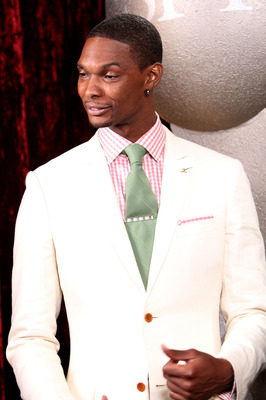 LOS ANGELES, CA - JULY 14:  NBA player Chris Bosh of the Miami Heat Speaks backstage at the 2010 ESPY Awards at Nokia Theatre L.A. Live on July 14, 2010 in Los Angeles, California.  (Photo by Alexandra Wyman/Getty Images for ESPY)