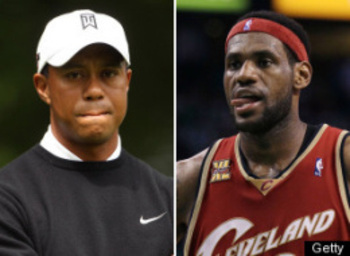 Tiger Vs Lebron
