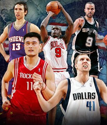 The Top Ten Foreign NBA Players