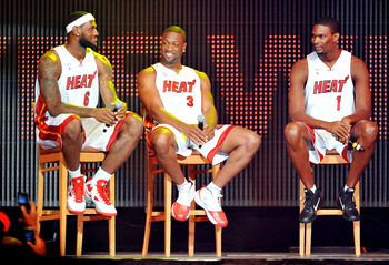 Miami Heat's New Big Three