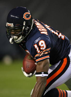 Aromashodu impressed toward the end of the season with the Bears.