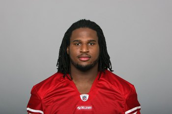 SAN FRANCISCO - 2009:  Ray McDonald of the San Francisco 49ers poses for his 2009 NFL headshot at photo day in San Francisco, California.  (Photo by NFL Photos)