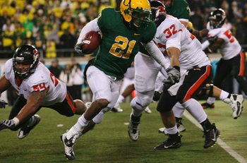 Oregon RB, La'Michael James