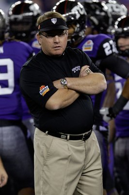 TCU head coach, Gary Patterson
