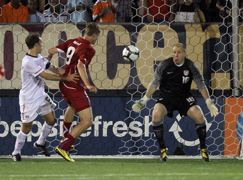 Brad Guzan In Action for the MNT In 2010 Pre-World Cup Friendlies