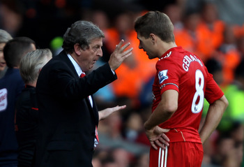 Roy Hodgson can be a calming influence over the team.