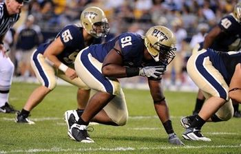 Pitt's Greg Romeus, one of the nation's best defensive ends returns for a senior campaign.