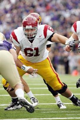 O'Dowd is starting at center at USC for what seems like the eighth straight year.