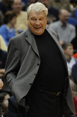 MINNEAPOLIS, MN - APRIL 7: Head coach Don Nelson of Golden State Warriors in the first half against the Minnesota Timberwolves during a basketball game at Target Center on April 7, 2010 in Minneapolis, Minnesota.  NOTE TO USER:  User expressly acknowledge
