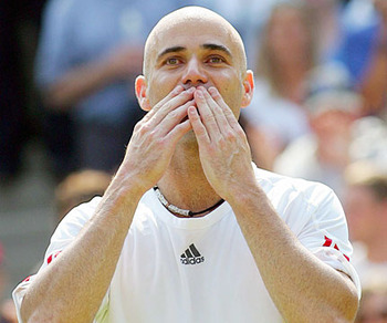 Andre Agassi - 6th in the Open Era