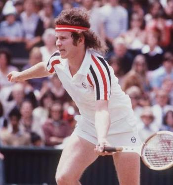John McEnroe - Number 5 in the Modern Era