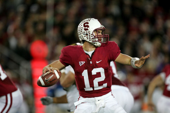 Stanford QB Andrew Luck will look to lead the Cardinal to the top of the Pac 10 this season