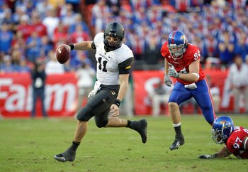 Mizzou QB Blaine Gabbert will lead the Tigers spread offense to the top of the Big XII North this season