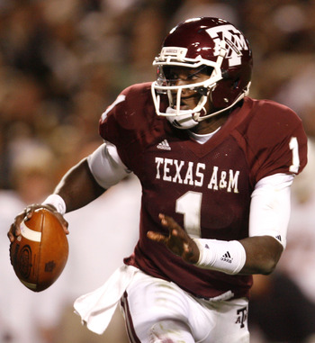 A&M QB Jerrod Johnson will be a force in the Big XII this season