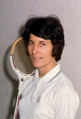 AUSTRALIA - 1980s:  Heather McKay of Australia poses for a photo before a tournament. McKay was the 1997 World Squash Champion. (Photo by Getty Images)