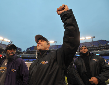 Harbaugh has the world at his fingertips in Baltimore.