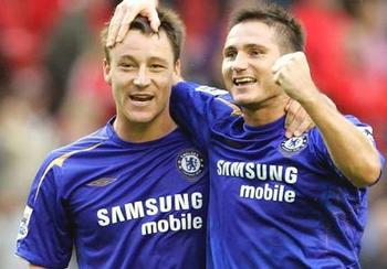 John Terry and Frank Lampard - key players for Chelsea