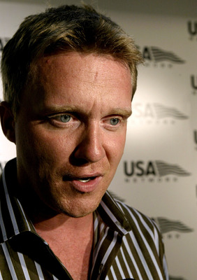 NEW YORK - AUGUST 30:  Actor Anthony Michael Hall attends the 'US Open' opening night party at Aces Restaurant in Arthur Ashe Stadium August 30, 2004 in New York City.  (Photo by Paul Hawthorne/Getty Images)