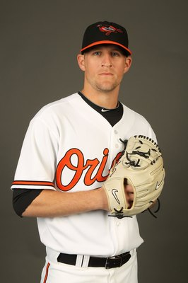 SARASOTA, FL - FEBRUARY 27:  Troy Patton #40 of the Baltimore Orioles poses for a photo during Spring Training Media Photo Day at Ed Smith Stadium  on February 27, 2010 in Sarasota, Florida.  (Photo by Nick Laham/Getty Images)