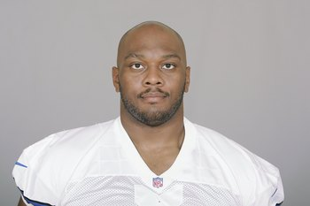 IRVING, TX - 2009:  Flozell Adams of the Dallas Cowboys poses for his 2009 NFL headshot at photo day in Irving, Texas. (Photo by NFL Photos)